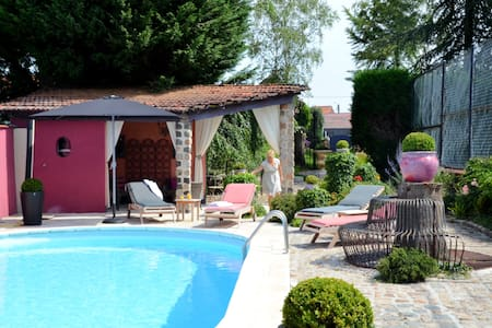 Calme, piscine , jacuzzi , pt.dj. - Bed & Breakfast