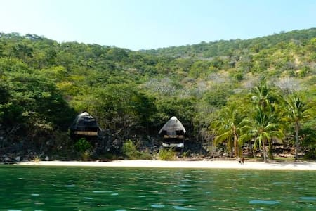 Luke's Beach, Mishembe Bay - Mpulungu - Almhütte