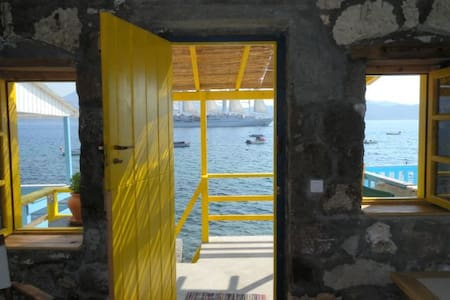 The Yellow Boat House - Milos - Casa