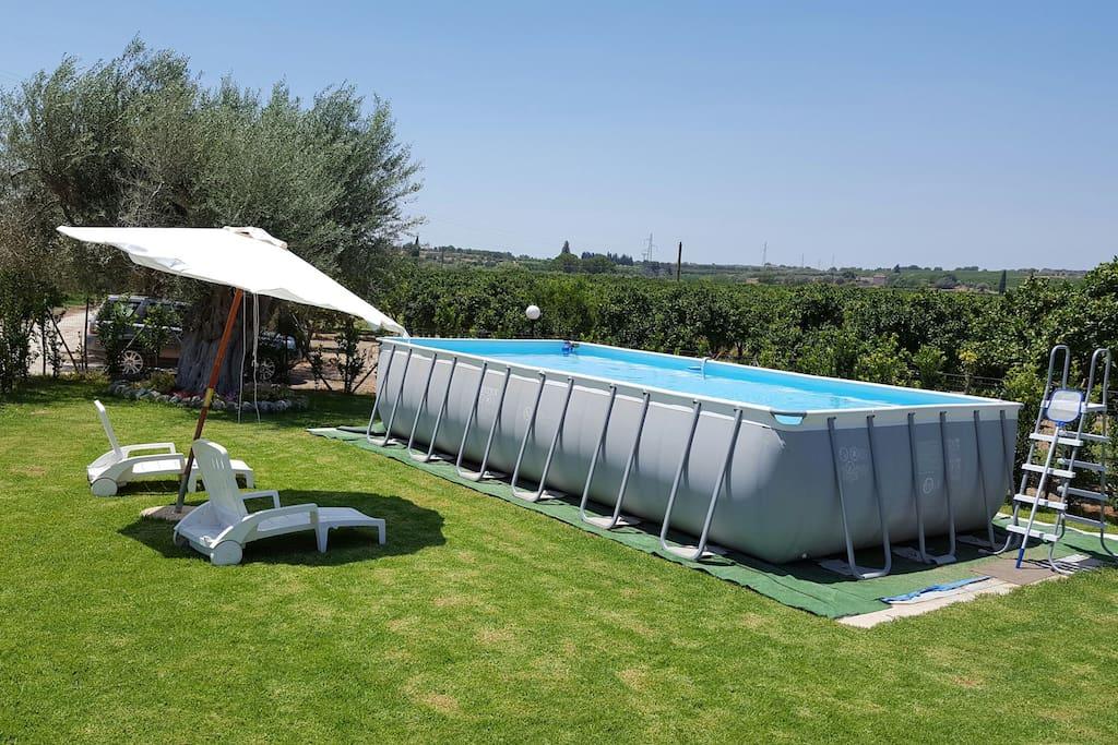 Relax piscina fuori terra