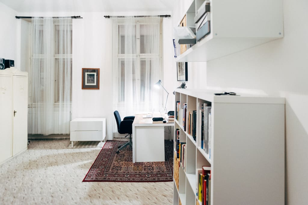 Entire apartment has been partly renovated and refurnished in 2014.