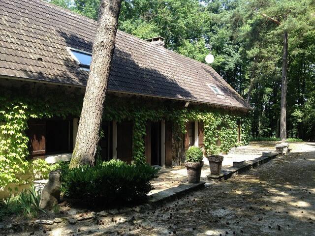 Maison dans les bois avec piscine - Coulommiers-la-Tour - Ev