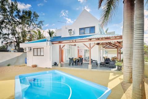 Côte Ouest - Villa Belifage Bleue  avec  Piscine