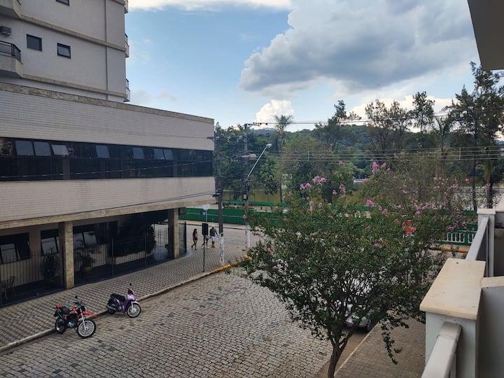 Apartamento com vista para o Parque das Águas