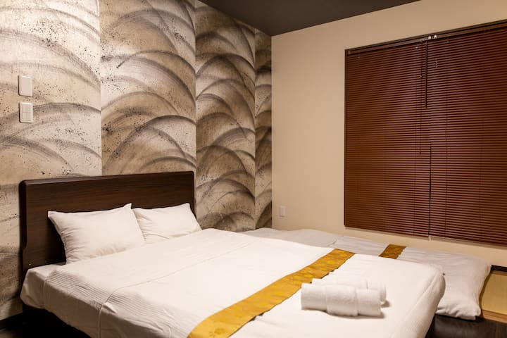 The Pagoda Experience: Kyoto St, Double bed, 103