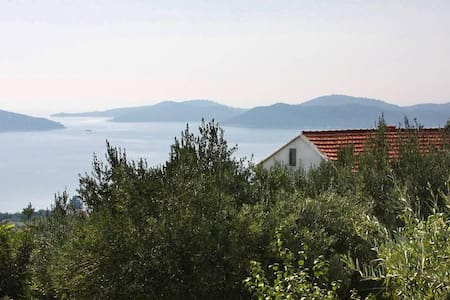 Two bedroom house with terrace and sea view Brsečine, Dubrovnik (K-4718) - Brsečine - 其它