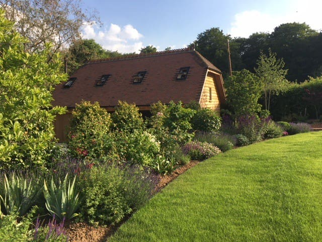 The Lodge - View from the garden