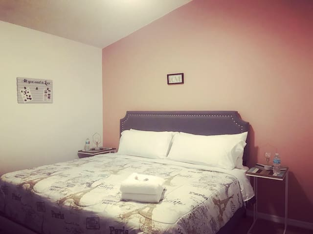 King bed private bath 12 mins to AnimalKingDisney.