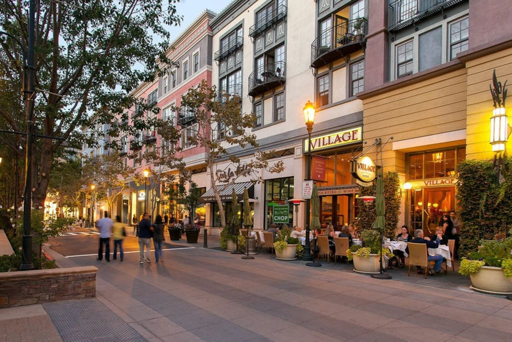 Santana Row! (steps away)
