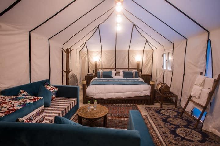 VIP Tent in Luxury Desert Camp Erg chebbi