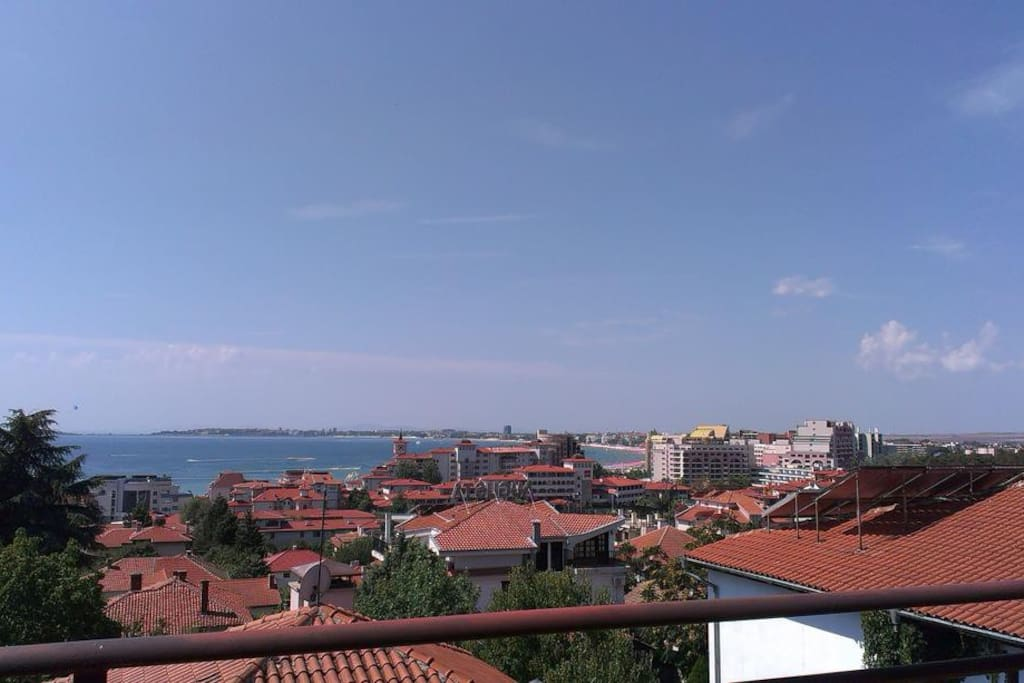 Panorama from the house