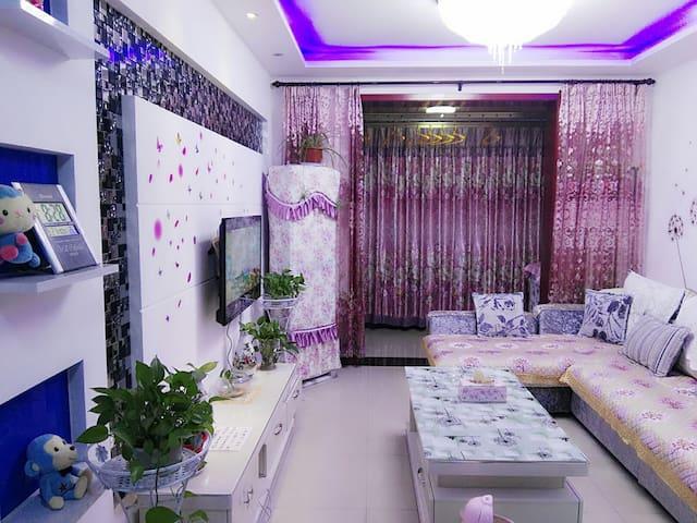 西安咸阳国际机场温馨公寓二居室免费接送机