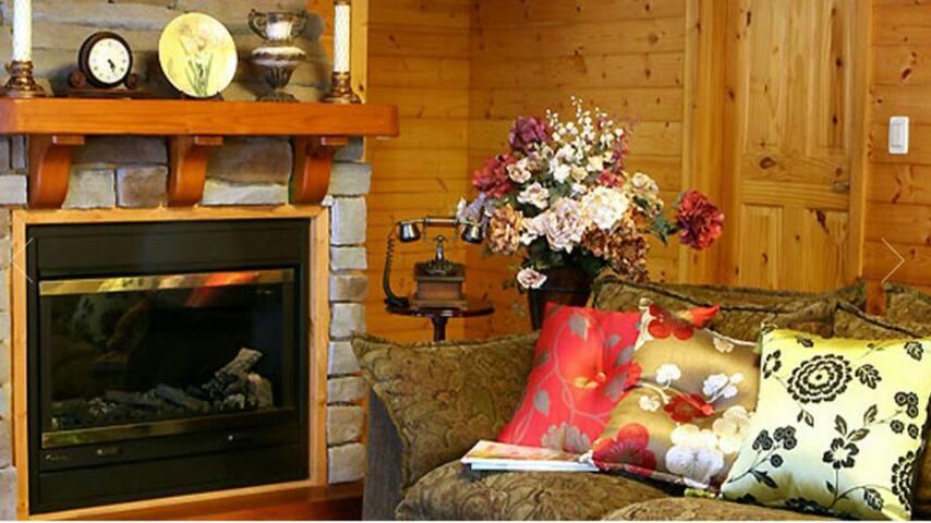 티타니아룸,스키장과 골프장전경이 한눈에 보이는 소나무숲속 별장 - Dunnae-myeon, Hoengseong-gun - Casa