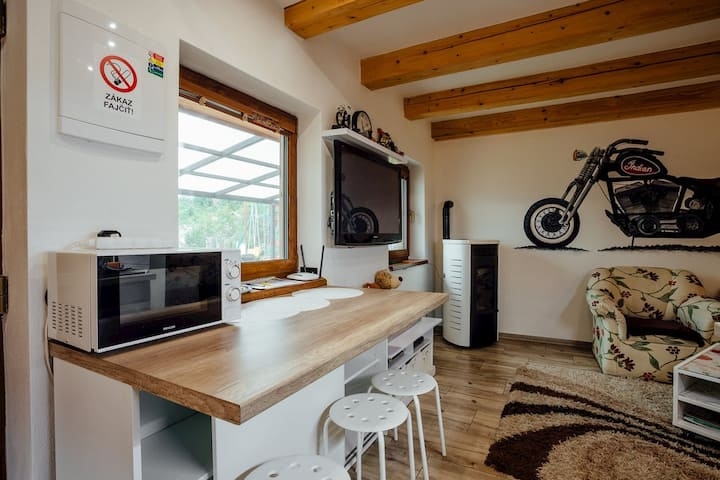 Biker' s house