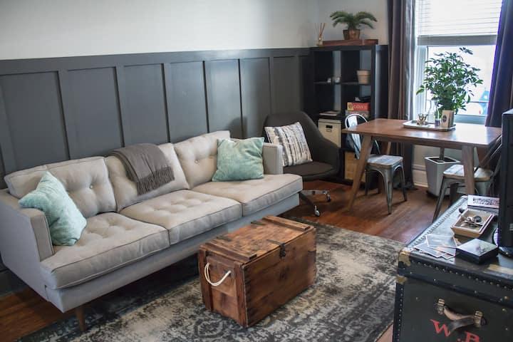 Retro Rustic Home in Philly's Italian Market