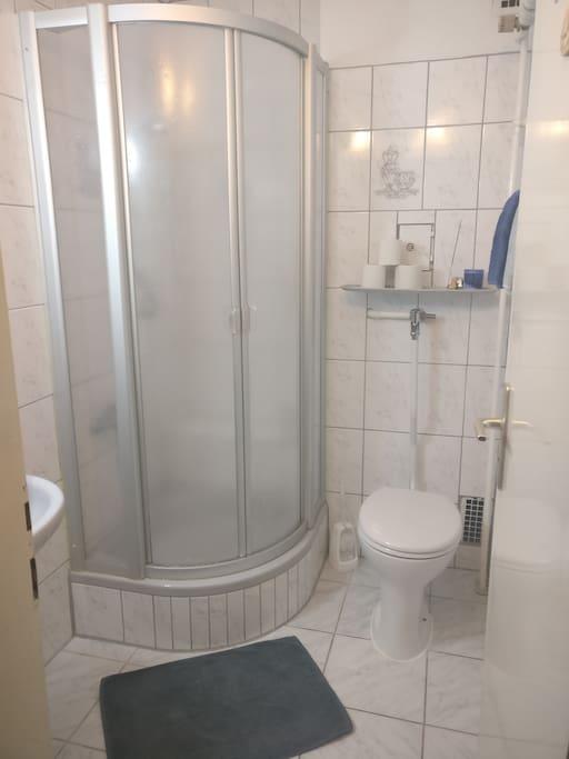 privates Badezimmer mit Dusche