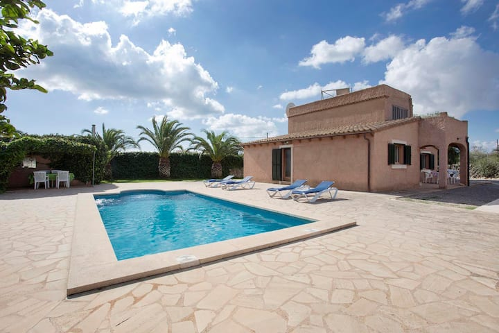 "Country Home ""Servera"" with Pool, Wi-Fi, Terrace & Garden; Parking Available"