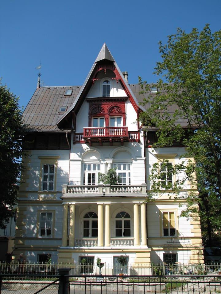 Villa Schodterer, Apartment Zeitenreise