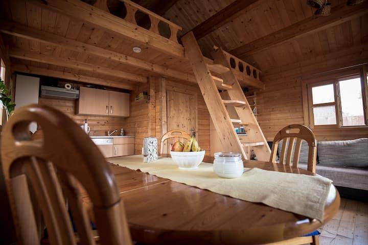 Gartenhütte - mit Blick in die schöne Oberpfalz