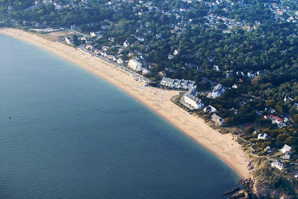 La plage de Sainte-Marguerite.