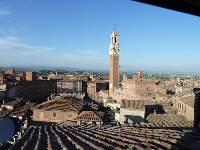 The highest wonderful view in Siena - Siena - Apartment