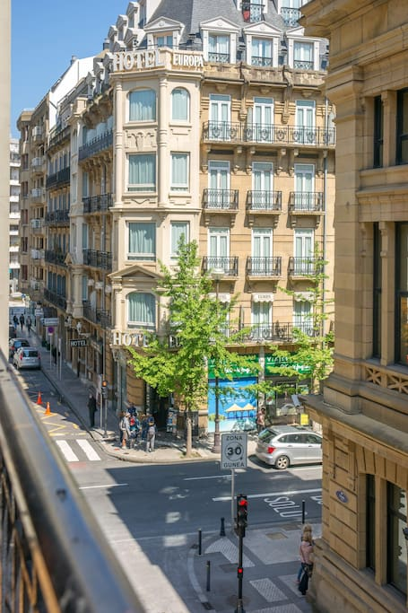 Vistas desde los balcones de la vivienda