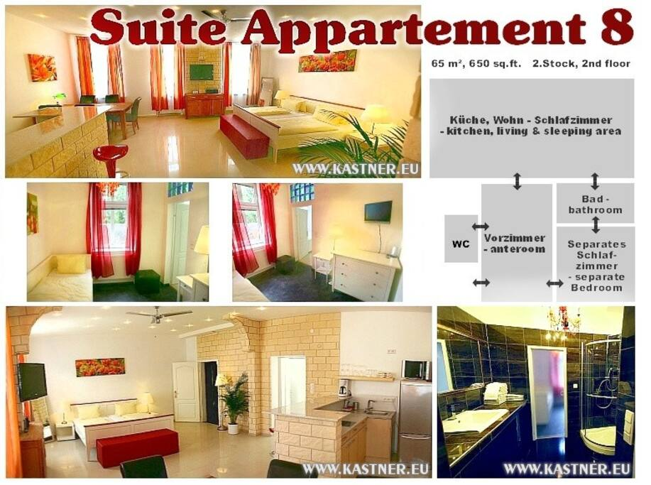 Suite Apartment Collage
