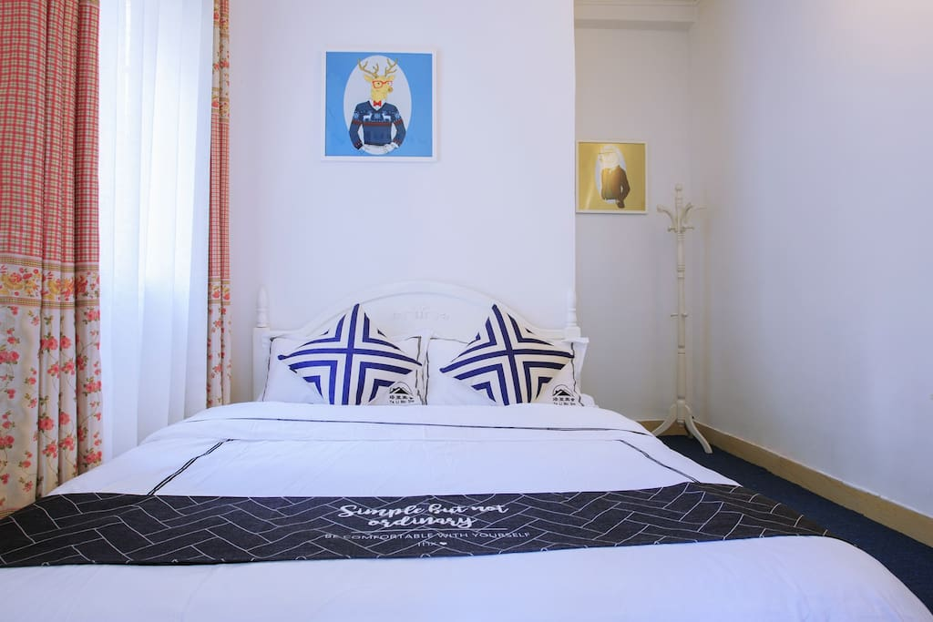 清新的卧室