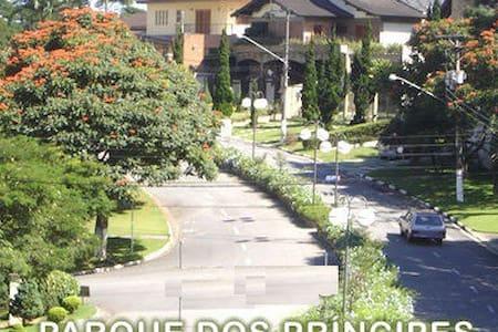 Modern house right across a park - São Paulo - Huis