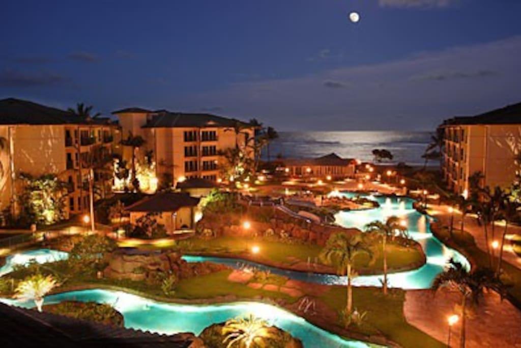 Waipouli Beach Resort, Kapaa, Kauai
