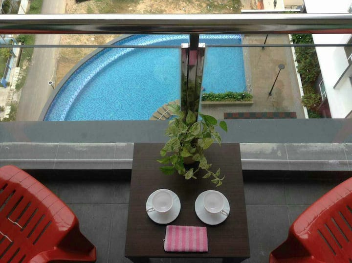 888@ D'Perdana Sri Cemerlang, Pool view
