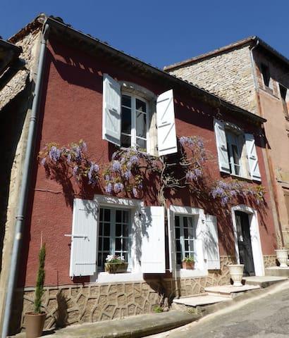 La Maison Rouge, Bruniquel - Bruniquel - House