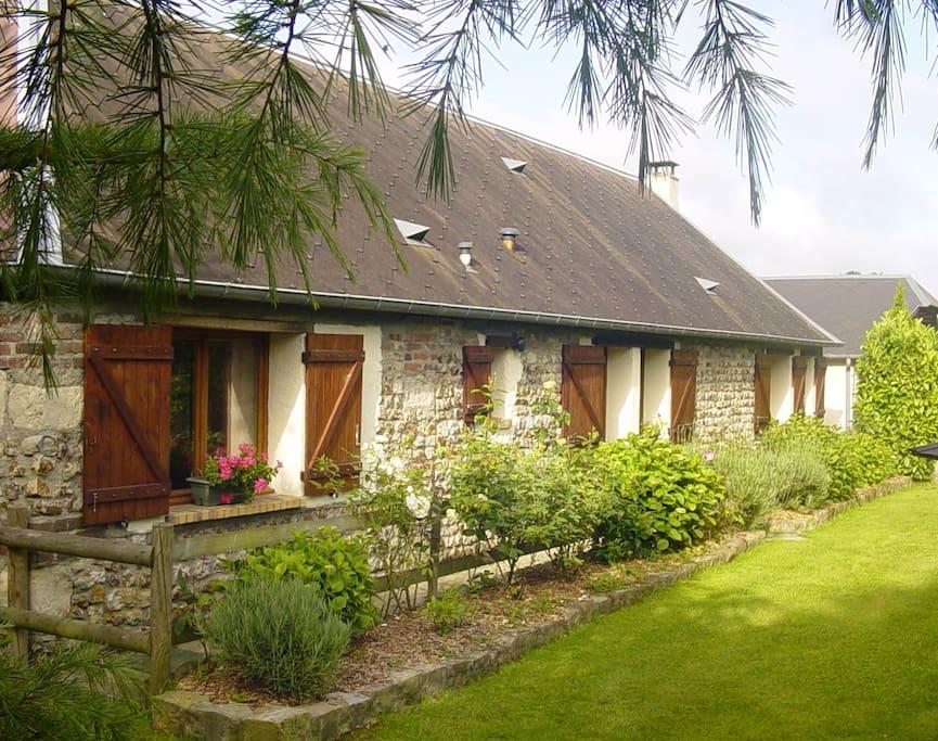 Maison de campagne au calme maisons louer saint ouen - Maison de campagne normandie ...