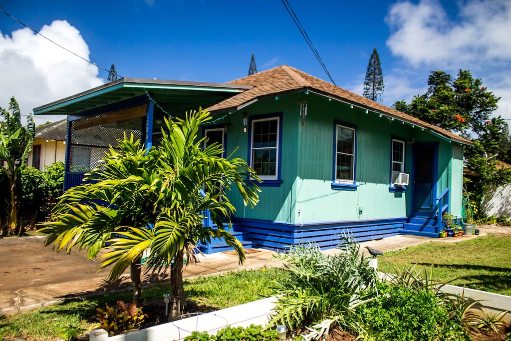 Lanai guest house houses for rent in lanai city hawaii for What is a lanai in a house