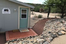 Your private path and entrance.