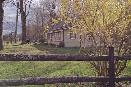 Renovated Schoolhouse-120-Acre Farm