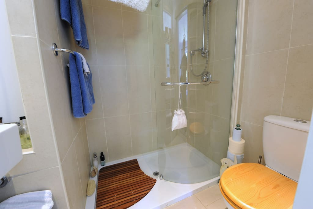 Ensuite shower room adjoining double bedroom 3.