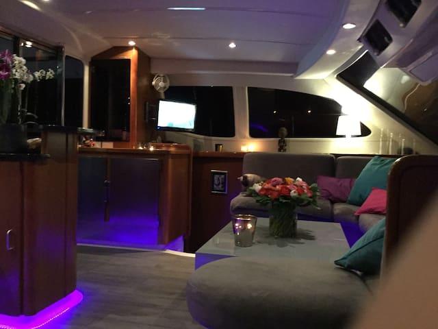 Cabine double sur un catamaran - Bormes-les-Mimosas - Barca