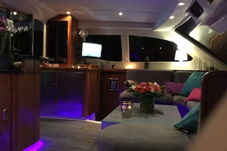Cabine double sur un catamaran - Bormes-les-Mimosas - Bateau