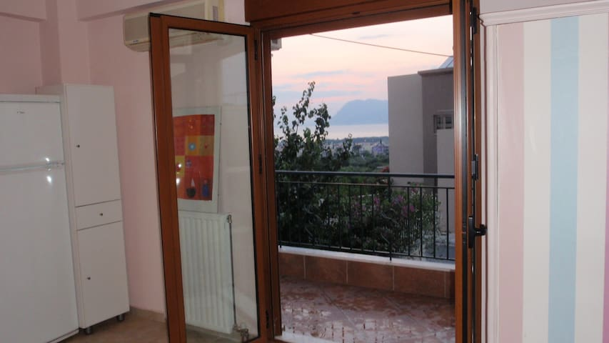 Studio in Patras, great view to sea - Patrai - Inny