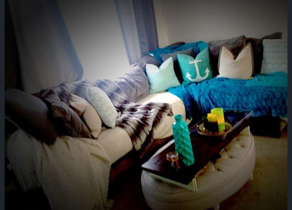super comfy sofa brand new!