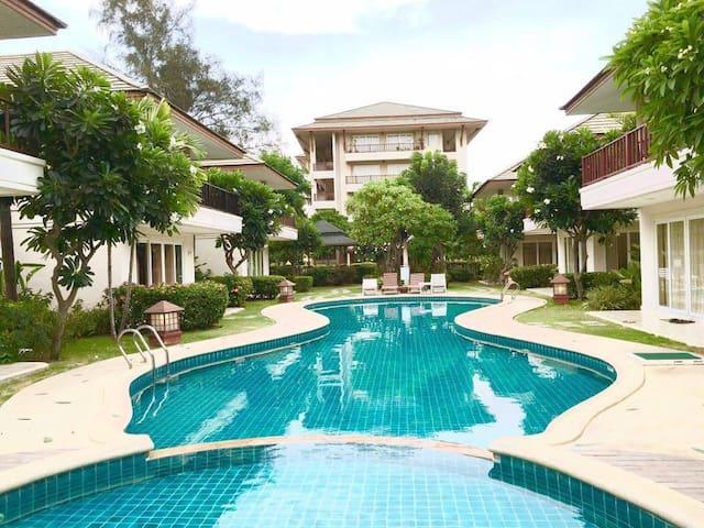 Beach villa for rent - Cha Am Thailand