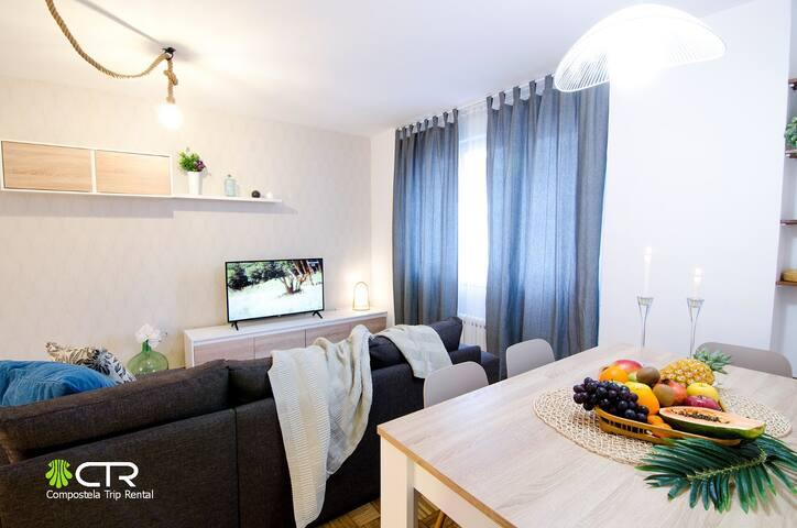 Apartamento espacioso muy bien situado