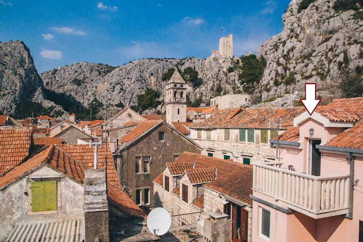 Apartment Aldo in Omis center