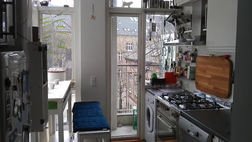 Hipster/apartment in the center city of Copenhagen