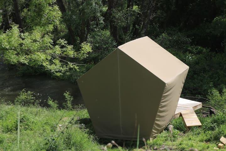 The Turtle Penta-Pod at Cara Creek Eco Lodge