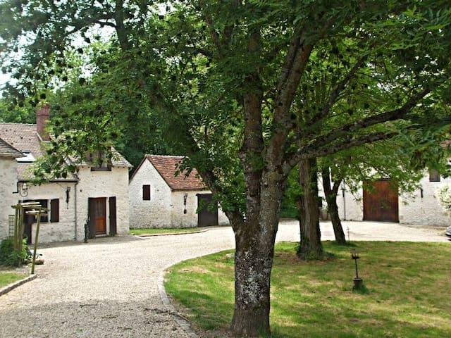 Ancien moulin, chambre avec SDB et entrée privées