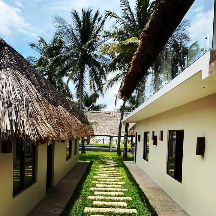 Casa Playa Paraíso en Puerto Arista, Chiapas