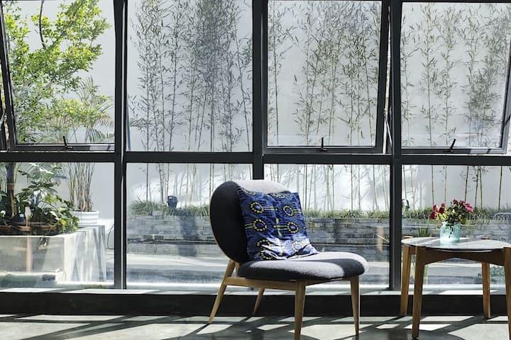 「石榴」跃式套房 隐居绍兴—最有腔调的城市民宿空间,生活方式美宿