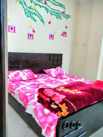 Cozy and  Private One Bedroom AC Apartment - New Delhi - Apartment